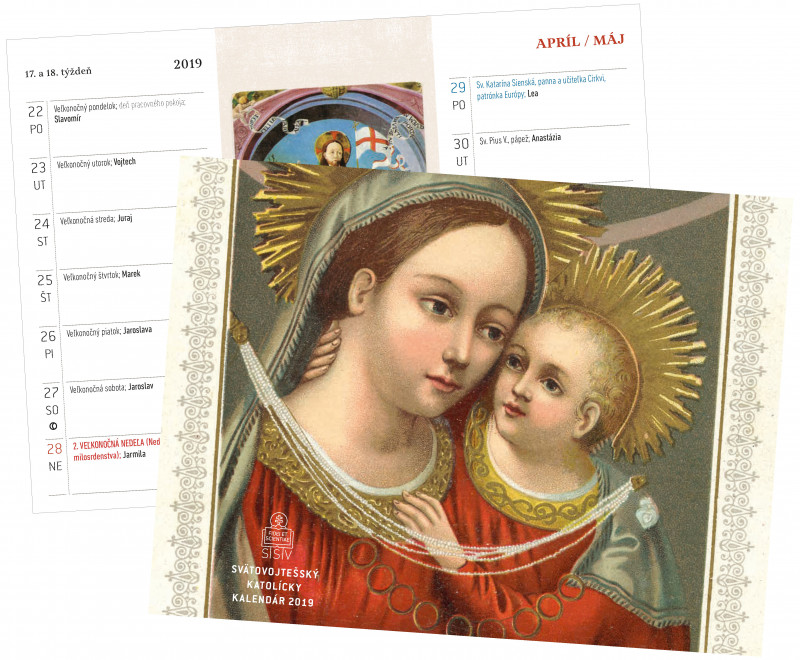 katolicky kalendar Svätovojtešský katolícky kalendár 2019 dvojtýždňový   Spolok  katolicky kalendar
